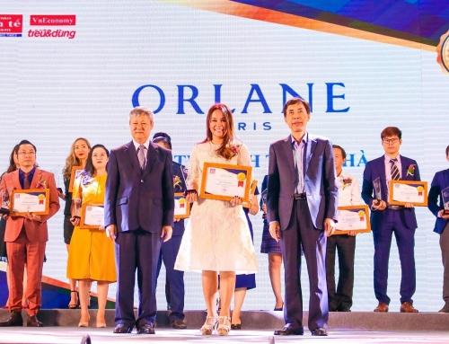 """Orlane Paris vào Top """"100 sản phẩm, dịch vụ Tin & Dùng 2018"""""""